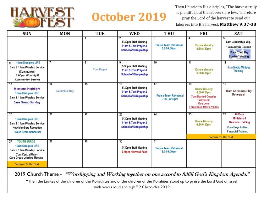 nsbfc 2019 calendar-october