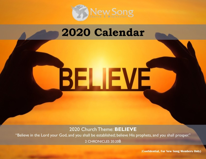 2020 Church Budget and Report website