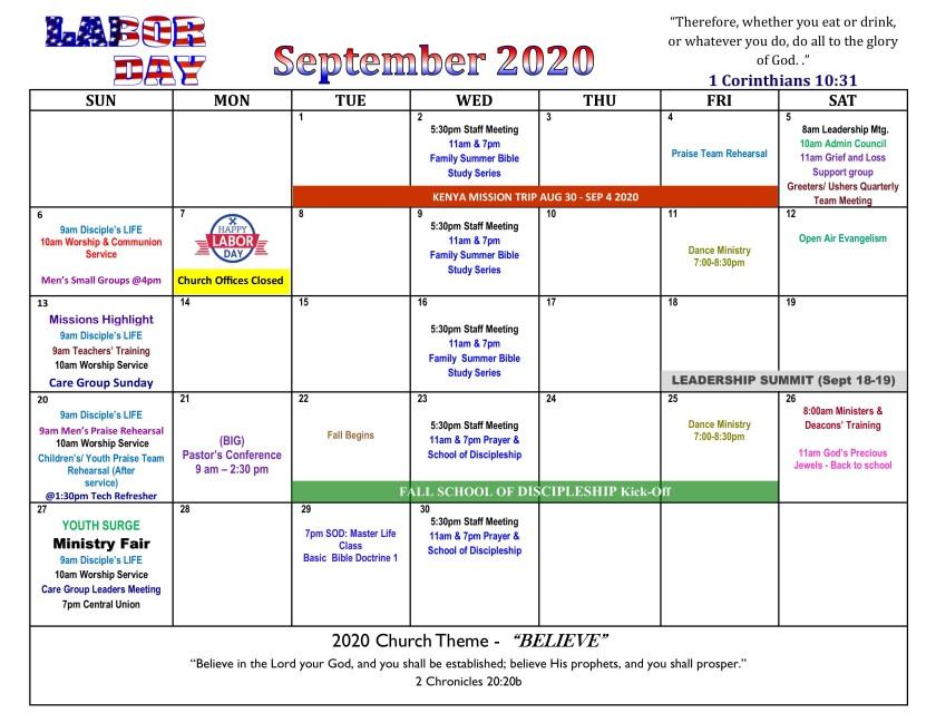 September 2020